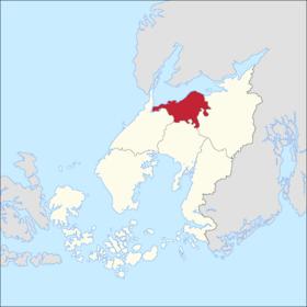 Localização de Vieber Lauterig em Helgedoff.