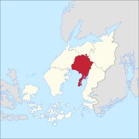 Localização de Peinlandoff em Helgedoff.