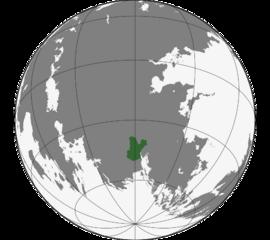Localização Principado de Belka