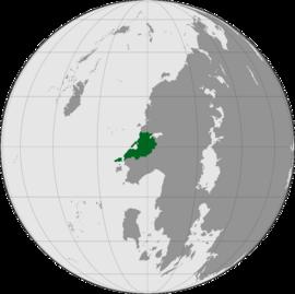 Localização República de Okhidetan